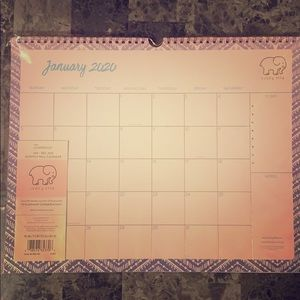 Other - Cambridge Ivory Ella Monthly wall calendar
